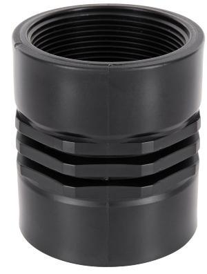 Doppel Muffe 2x Innengewinde - Verschraubungen für den IBC-Container