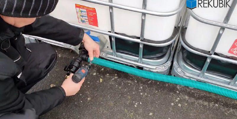 IBC Container verbinden: mit Anleitung