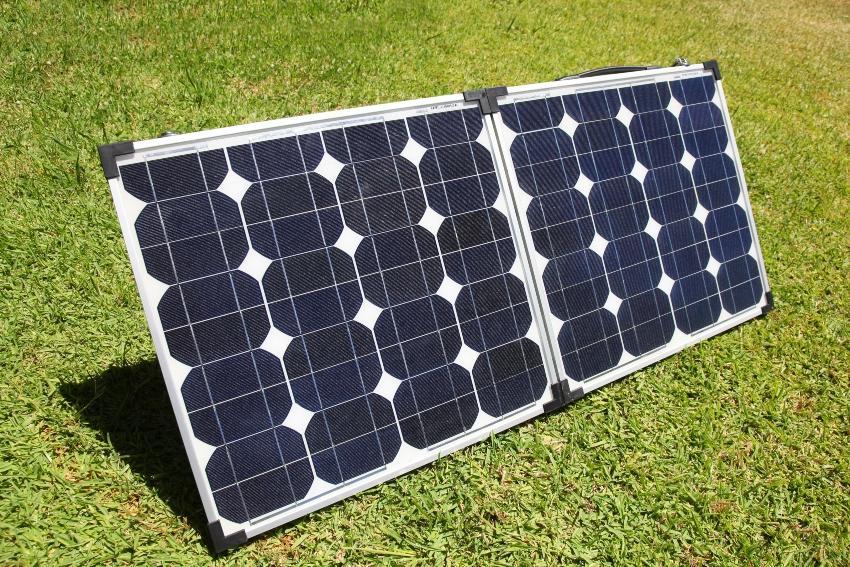 Mobile Photovoltaik Anlage