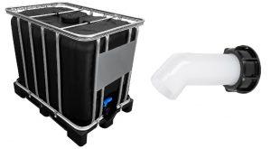 IBC Container und Auslauftüllen