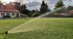 Gartenbewässerung Versenkregner Wurfweite