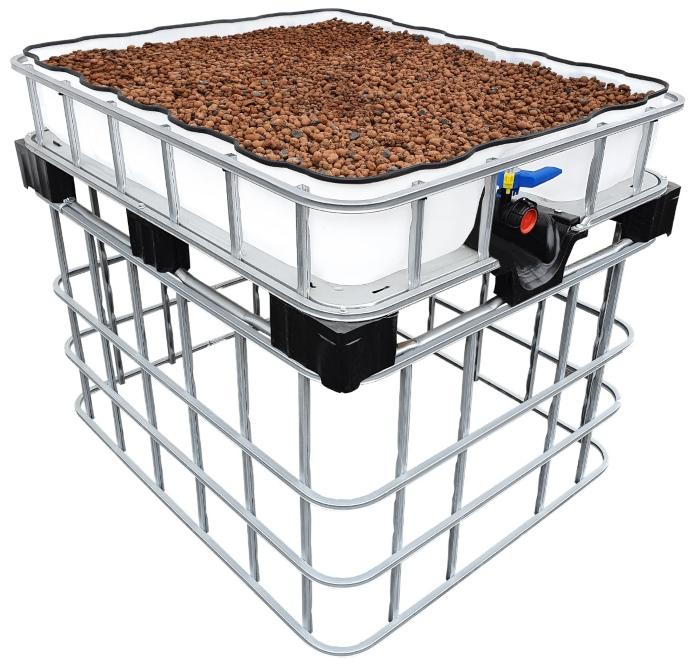 200l IBC Hochbeet Podest Farming Speicher +SET