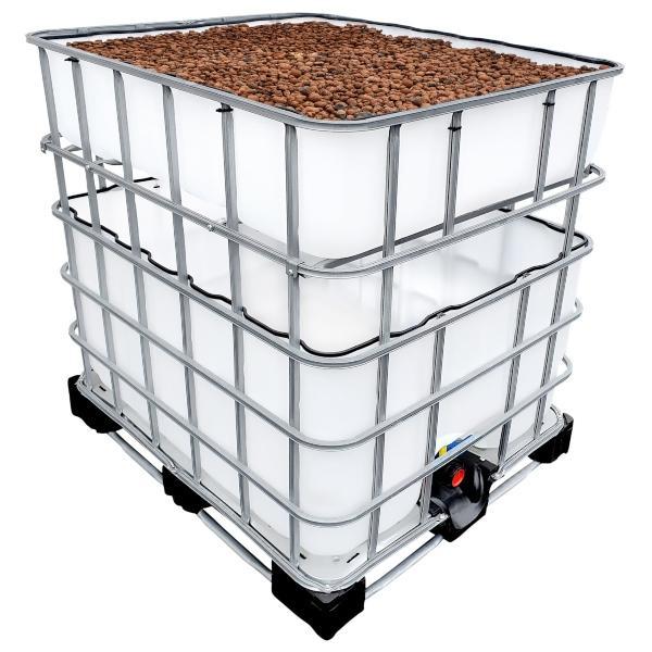 600/200l IBC KUBIKGARDEN Hochbeet Urban Farming Speicher +SET - Pflanzbeet