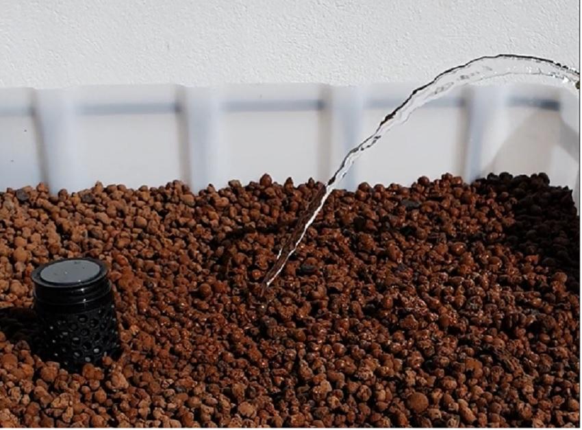 600/200l IBC KUBIKGARDEN Hochbeet Urban Farming Speicher +SET - Ebbe-Flut-System