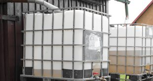 Regenwasseranlage mit IBC-Technik
