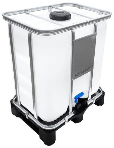 300l IBC Container UN-Zulassung auf PE-Palette NEU | Leergewicht: 27 kg