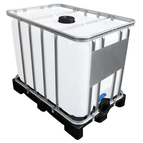 600l IBC Container auf PE-Palette NEU | Leergewicht 50 kg