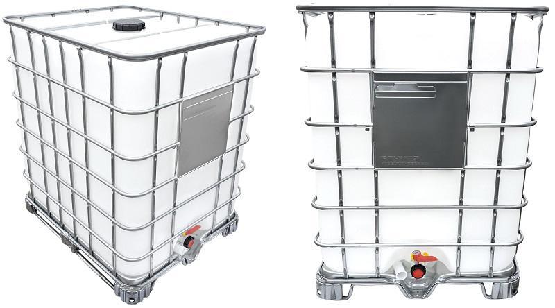 1250l IBC Container auf Stahlpalette NEU | Leergewicht: 70 kg