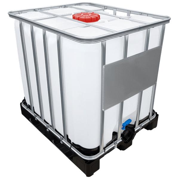 1000l IBC Container UN-Zulassung auf PE-Palette NEU - Mögliche Verwendung als Prozesstank