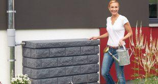 Regenspeicher, Regenwasserfilteranlage für Haus und Garten