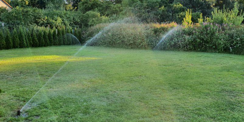 Automatische Gartenberegnung
