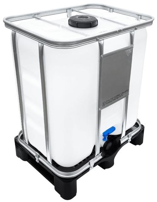 300l IBC Container UN-Zulassung auf PE-Palette NEU | lebensmittelecht - BC als Food-Tank