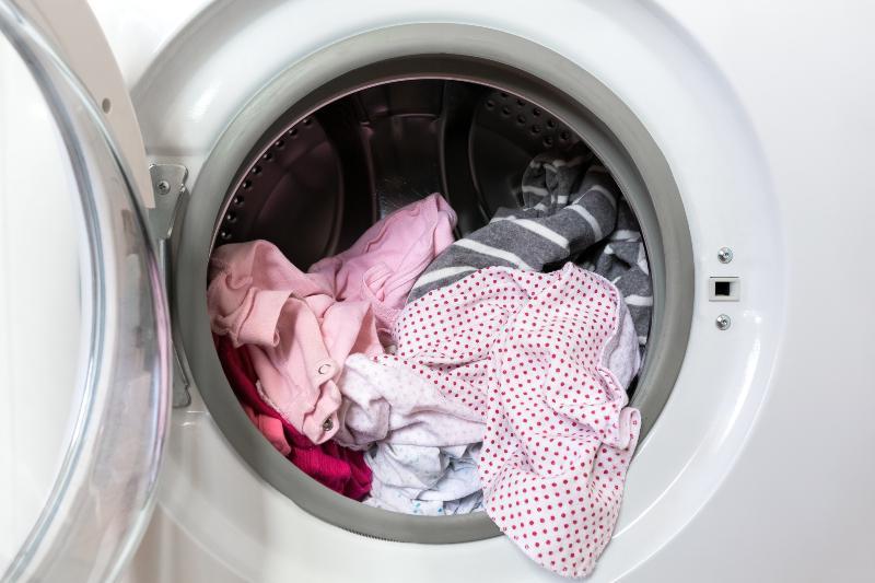 Waschmaschine, geöffnet