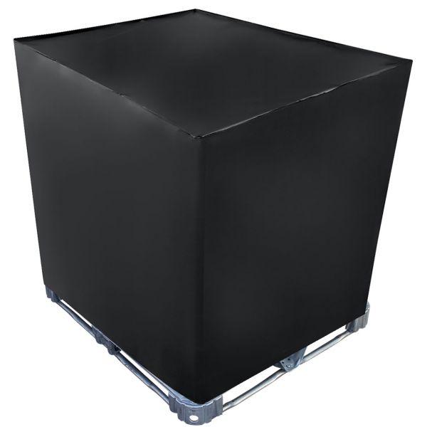 IBC Cover UV-Schutz Folie geschlossen in Schwarz