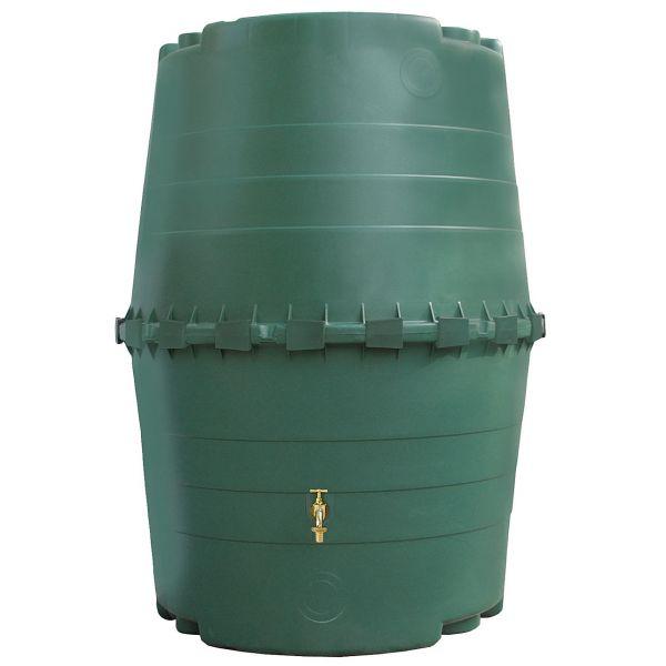 1300L Regenspeicher Wassertank Regentonne TOP-Tank für oberirdischen Einbau von GRAF GARANTIA