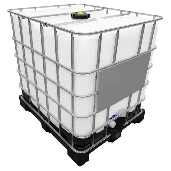 1000l IBC Wassertank Container GESPÜLT auf PE-Palette