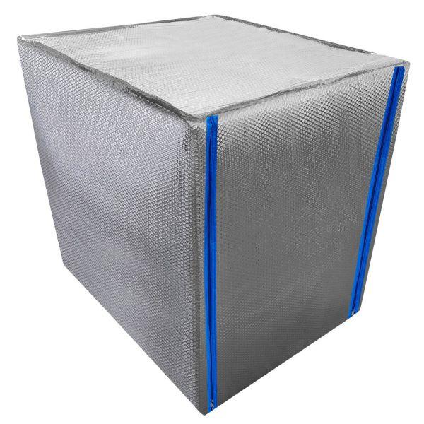 1000l IBC Container Thermoschutzhaube mit Reißverschluss Frostschutz Thermohülle