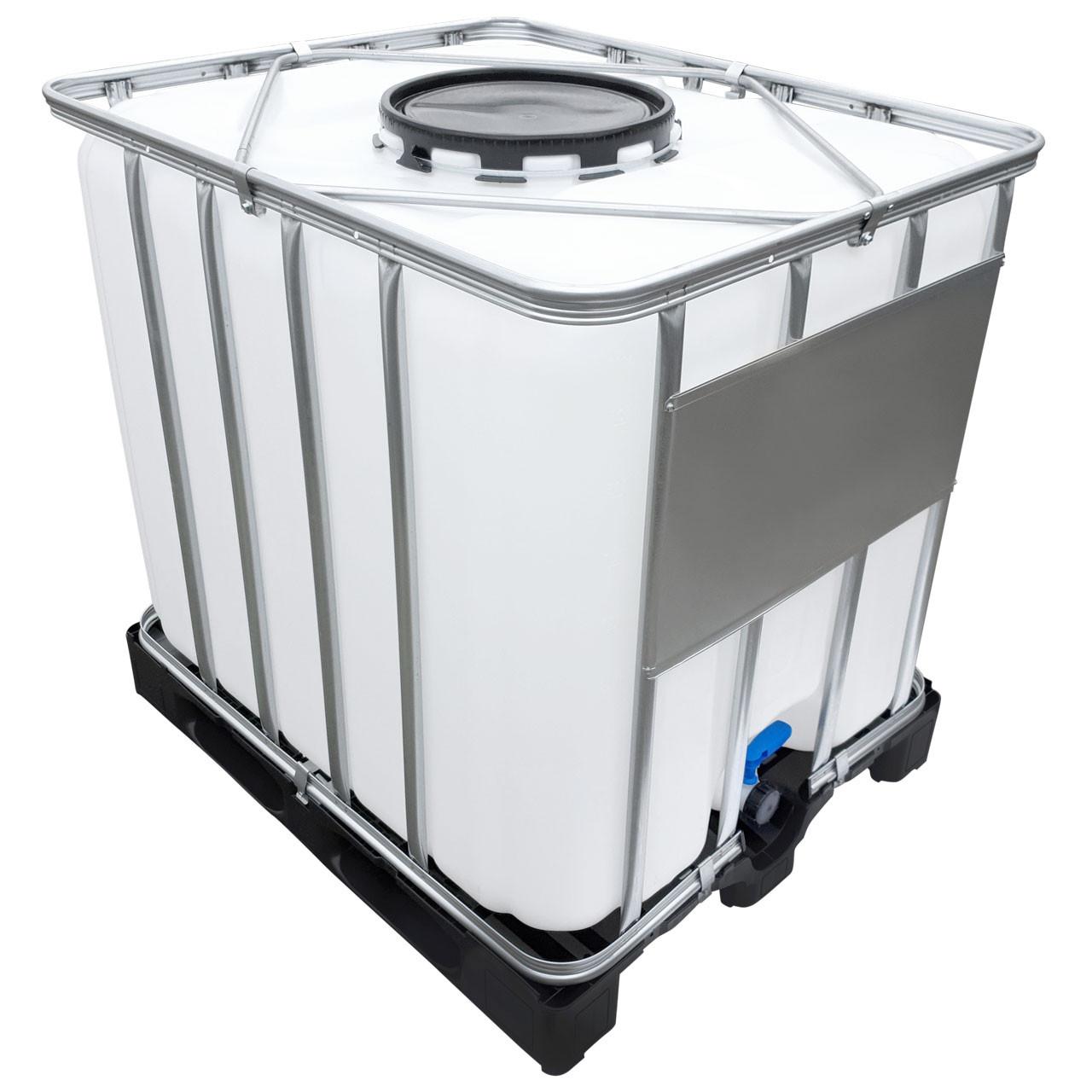 1000l IBC Wassertank UNGESPÜLT B-Ware SONDERPREIS IBC Tank auf Palette