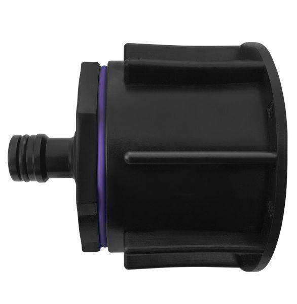 """IBC Container Adapter S60x6 (60mm) Grobgewinde DN 50 - Steckkupplung """"GARDENA"""""""