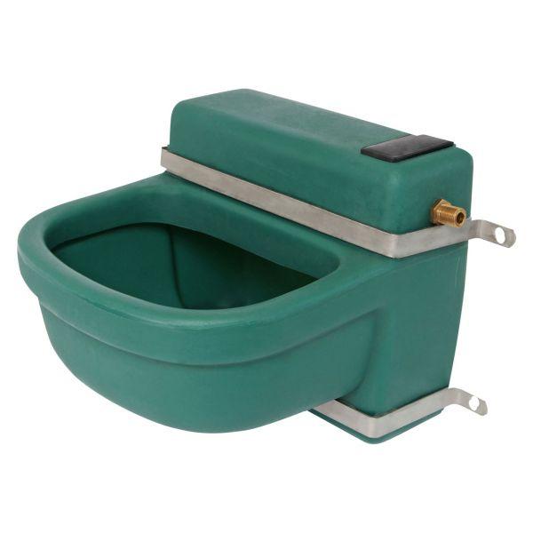 Tränkebecken 16 Liter Weidetränke mit Niederdruck Schwimmerventil