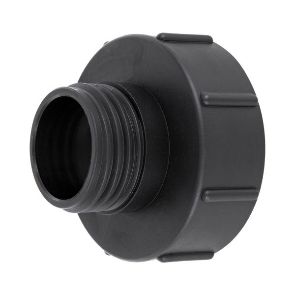 IBC Container Adapter S100x8 (100mm) Grobgewinde DN 80 - Reduzierung S60x6 (60mm) Grobgewinde DN 50