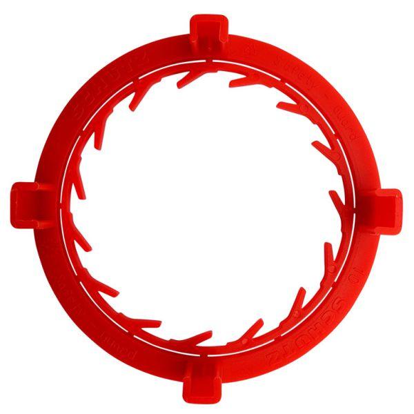 Originalitätsschutz rot für SCHÜTZ Klappenhahn Hahn S75x6 (75mm) mit ALU Überwurfmutter online kaufen