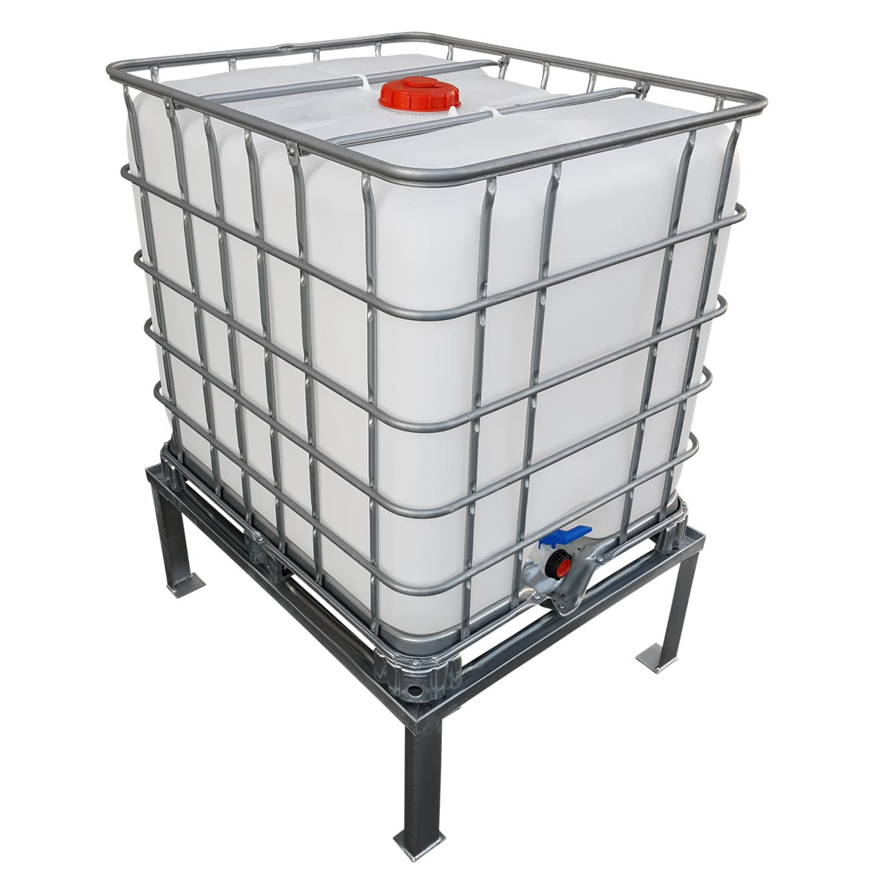 1000l ibc untergestell grundmodul podest f r container. Black Bedroom Furniture Sets. Home Design Ideas