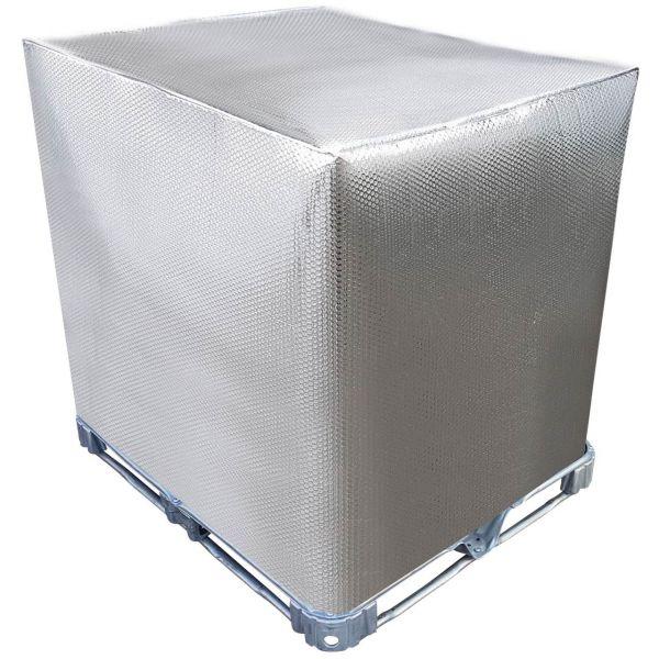 1000l IBC Thermohaube Thermohülle für Regenwassertank Container Frostschutzhaube