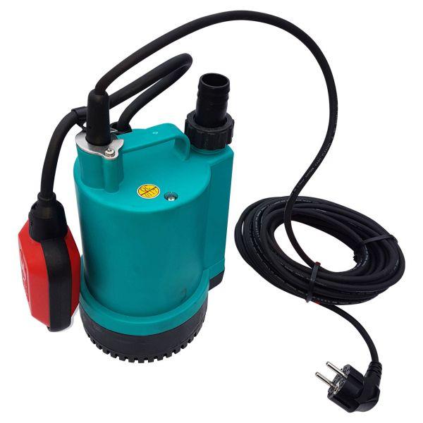 Tauchpumpe flachabsaugend mit Schwimmer (230V)