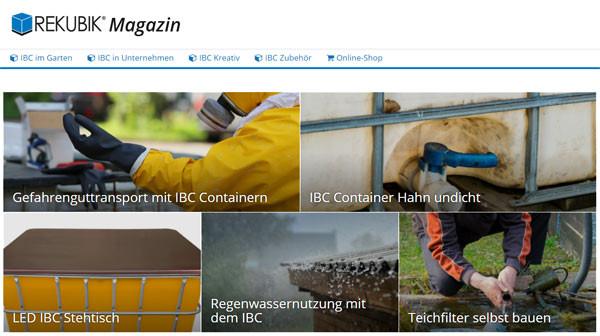 Tankverbinder · Regentonne
