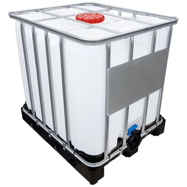 1000l IBC Container mit UN-Zulassung für Gefahrgut auf Kunststoffpalette NEU