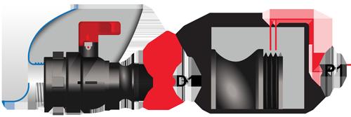 2-Zoll-Camlock-Hebelarmkupplung