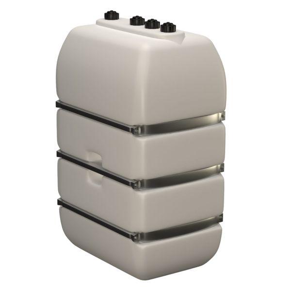 1000l Lagertank (Bandagen) mit Einlaufstutzen