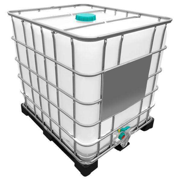 1000l IBC Wassertank GESPÜLT (SIRUP) auf PE-Palette