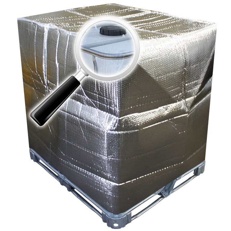 1000l ibc container thermoschutzhaube frostschutz thermoh lle rekubik. Black Bedroom Furniture Sets. Home Design Ideas