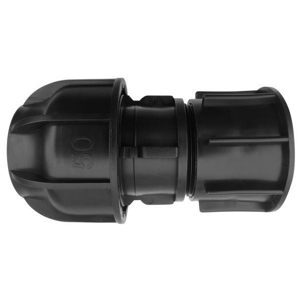 IBC Adapter S60x6 (60mm) Grobgewinde DN 50 - Übergangsmuffe PP Klemme 50mm Klemmverschraubung
