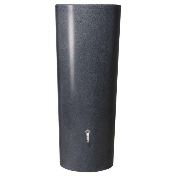 350l Regentonne Wassertank Regenspeicher STONE LAVA 2in1 mit Pflanzschale von GRAF GARANTIA