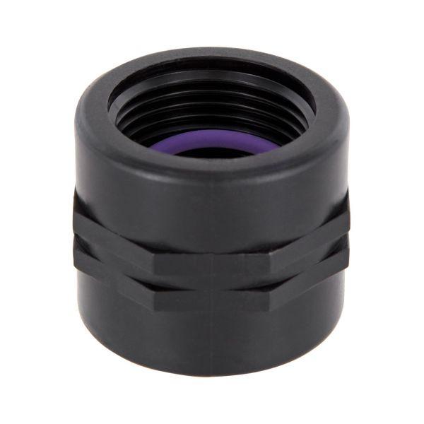 PP Gewindefittings Gewindeverschraubung Doppelmuffe Fitting 2x Innengewinde mit O-Ring