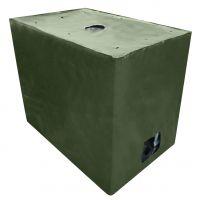 IBC Cover UV-Schutz Gewebe mit Klettverschluss in Grün