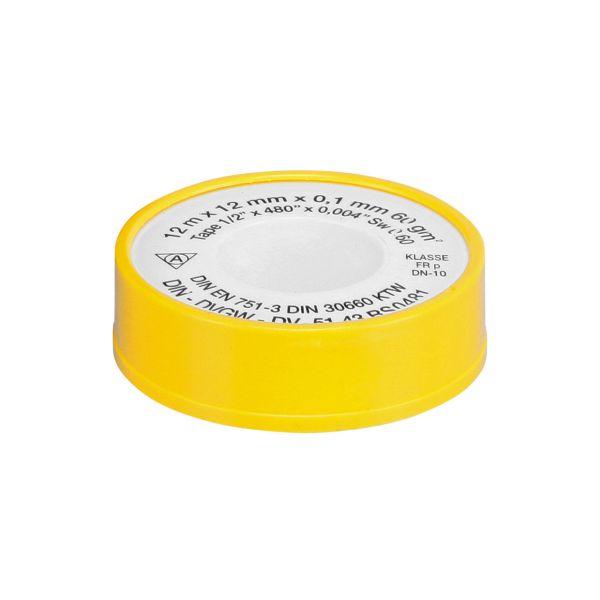 Teflonband 12m x 12mm x 0,1mm (PTFE)