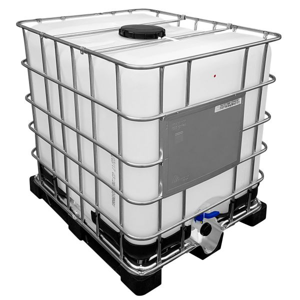 1000l IBC UN-Zulassung auf Kunststoffpalette NEU