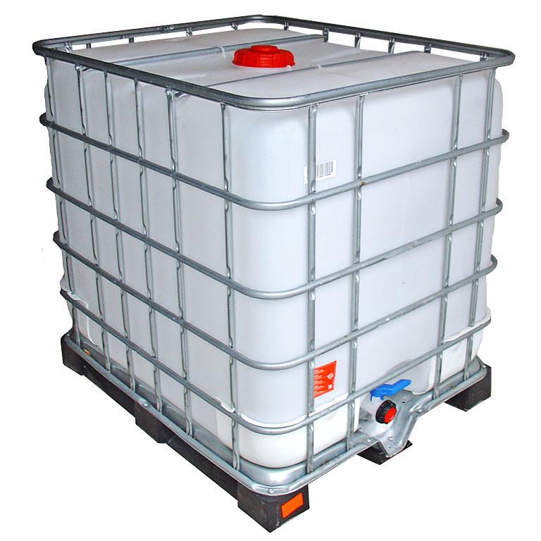 1000l ibc wassertank auf kunststoffpalette gesp lt gebrauchte ibc ibc container rekubik. Black Bedroom Furniture Sets. Home Design Ideas