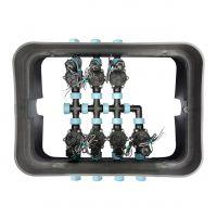 Ventilbox mit Magnetventilen (24V AC)